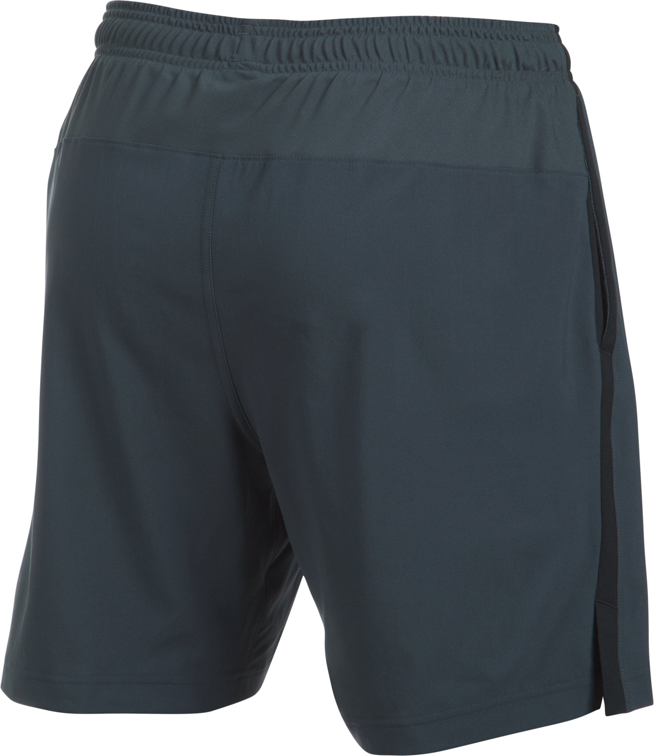 Men's UA Launch 2-in-1 Shorts, STEALTH GRAY,