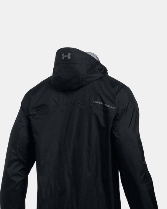 Men's UA Storm Bora Jacket, Black, pdpMainDesktop image number 4