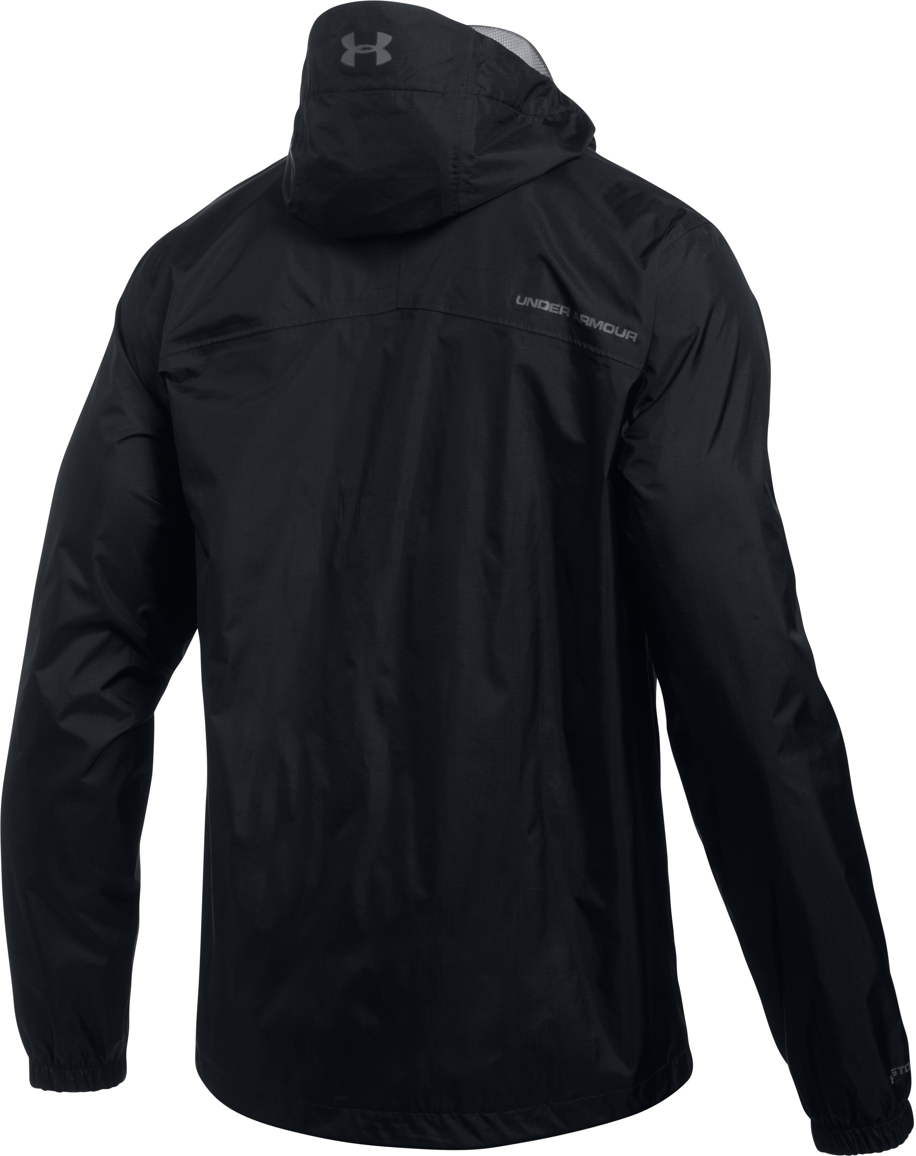 Men's UA Storm Bora Jacket, Black ,