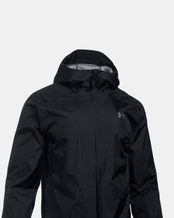 Men's UA Storm Bora Jacket, Black, pdpMainDesktop image number 3