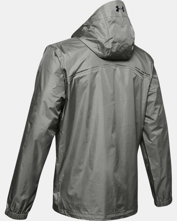 Men's UA Storm Bora Jacket, Green, pdpMainDesktop image number 5