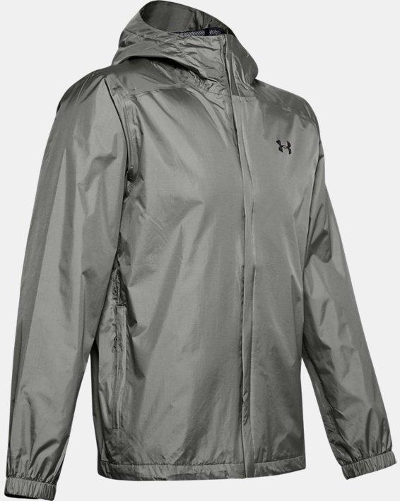 Men's UA Storm Bora Jacket, Green, pdpMainDesktop image number 4