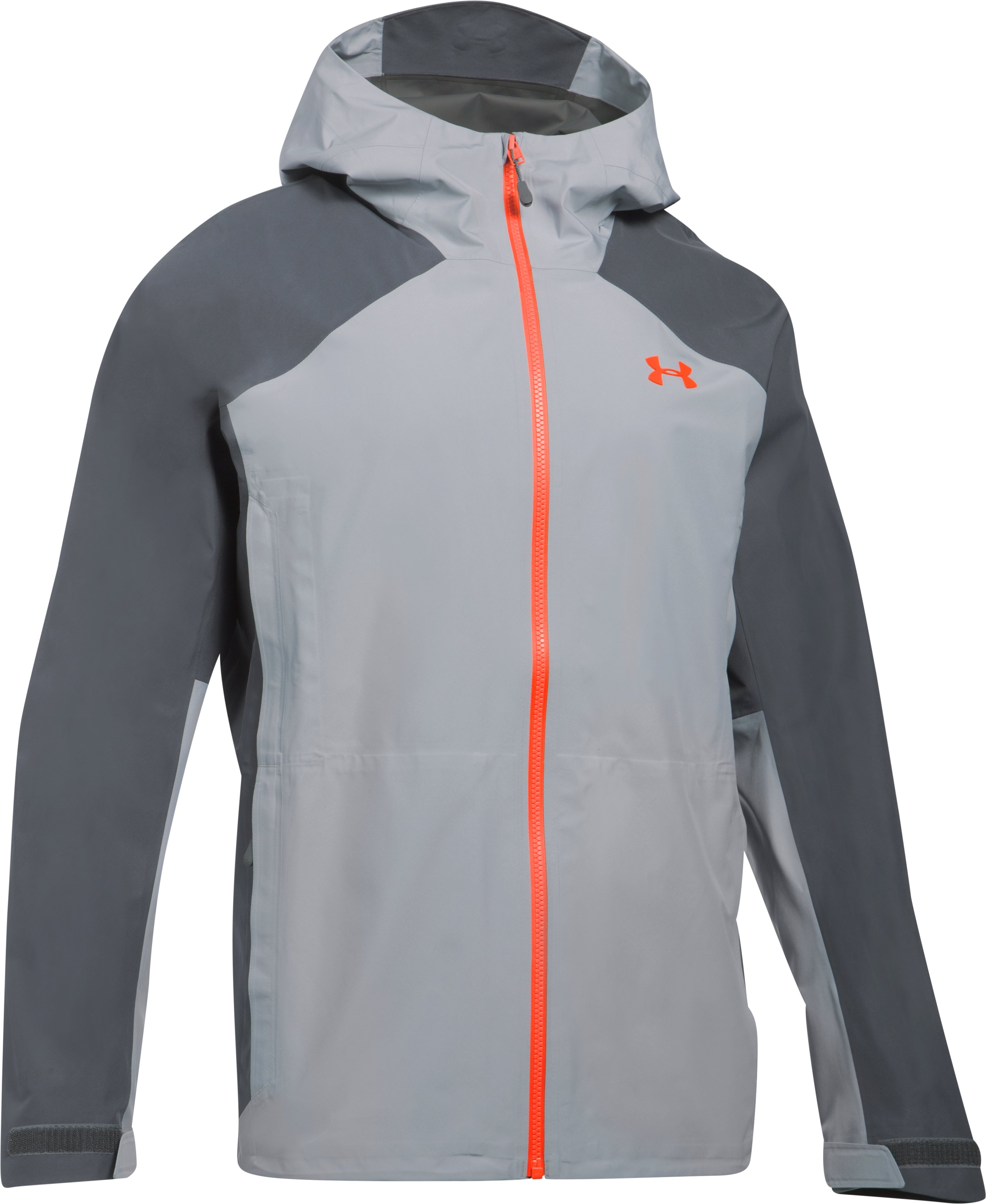 Men's UA Storm Paclite Jacket, OVERCAST GRAY,