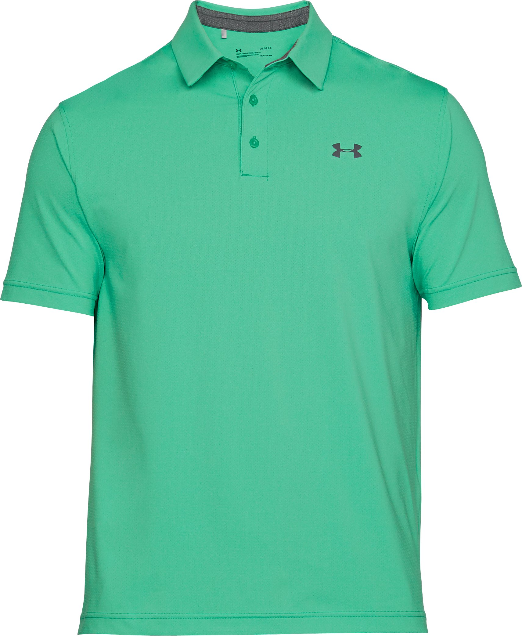 Men's UA Playoff Vented Polo, Jade,
