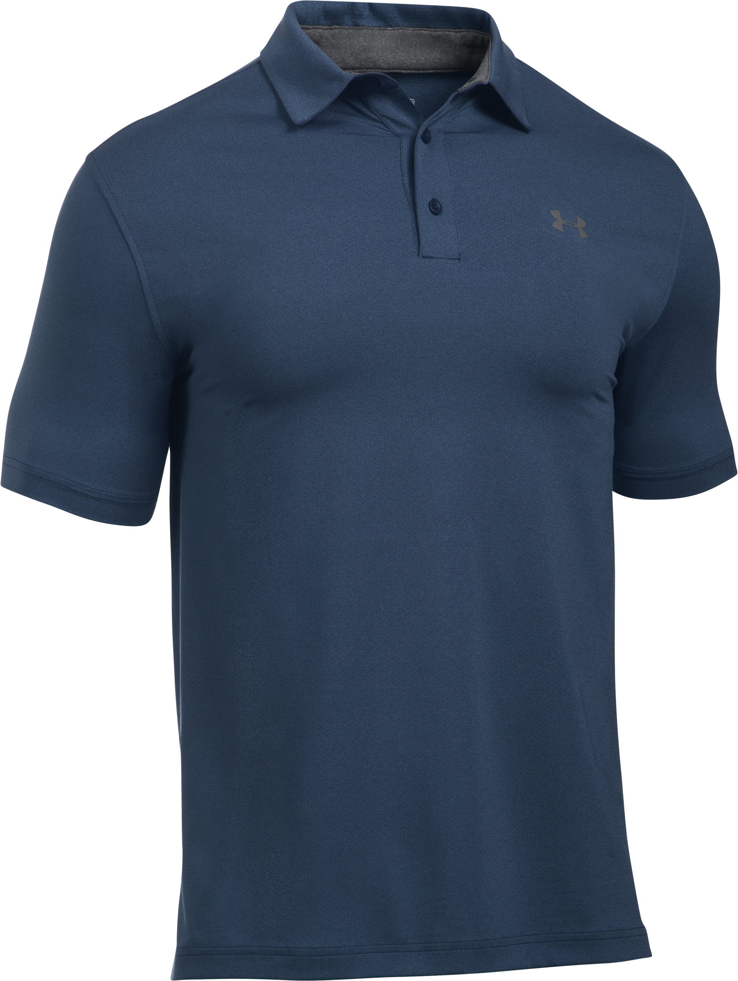 Men's UA Playoff Vented Polo, Academy, undefined