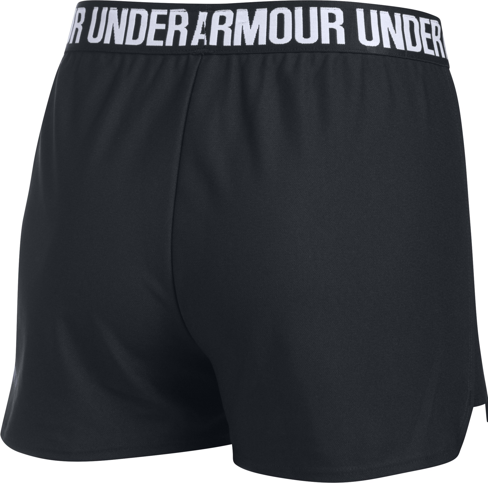 Women's UA Play Up 2.0 Shorts, Black ,