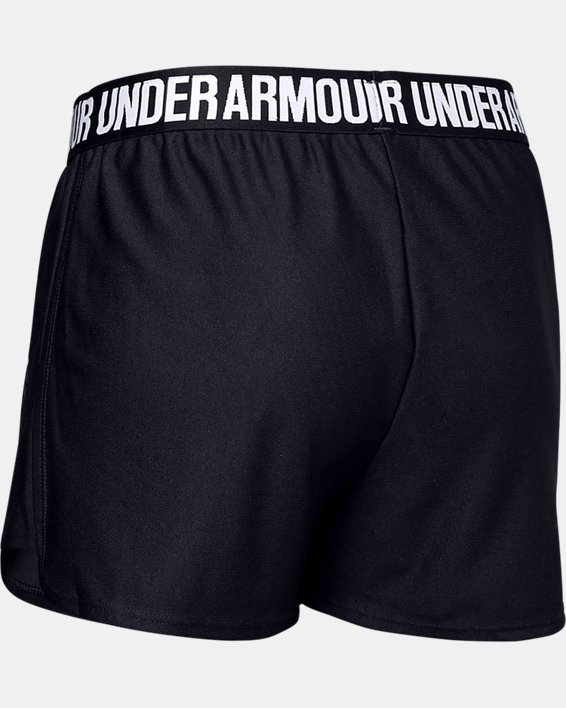 Women's UA Play Up 2.0 Shorts, Black, pdpMainDesktop image number 7