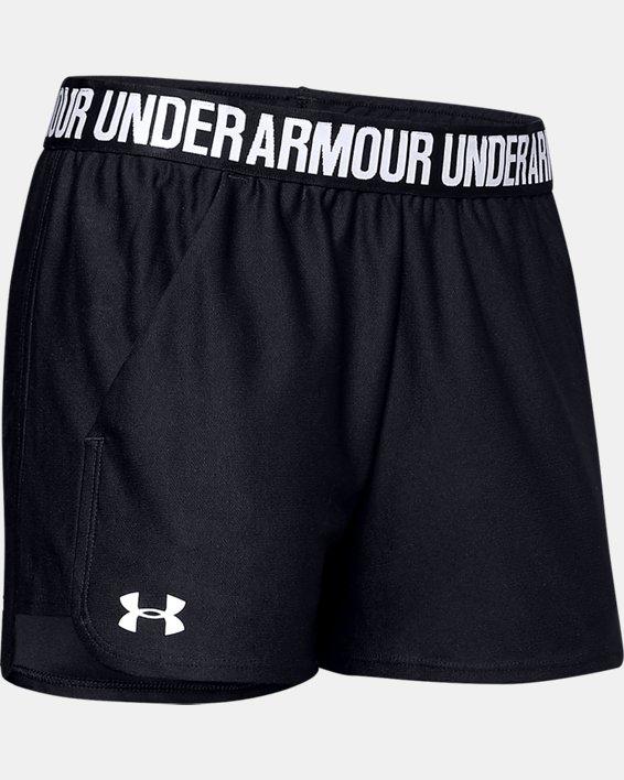 Women's UA Play Up 2.0 Shorts, Black, pdpMainDesktop image number 6