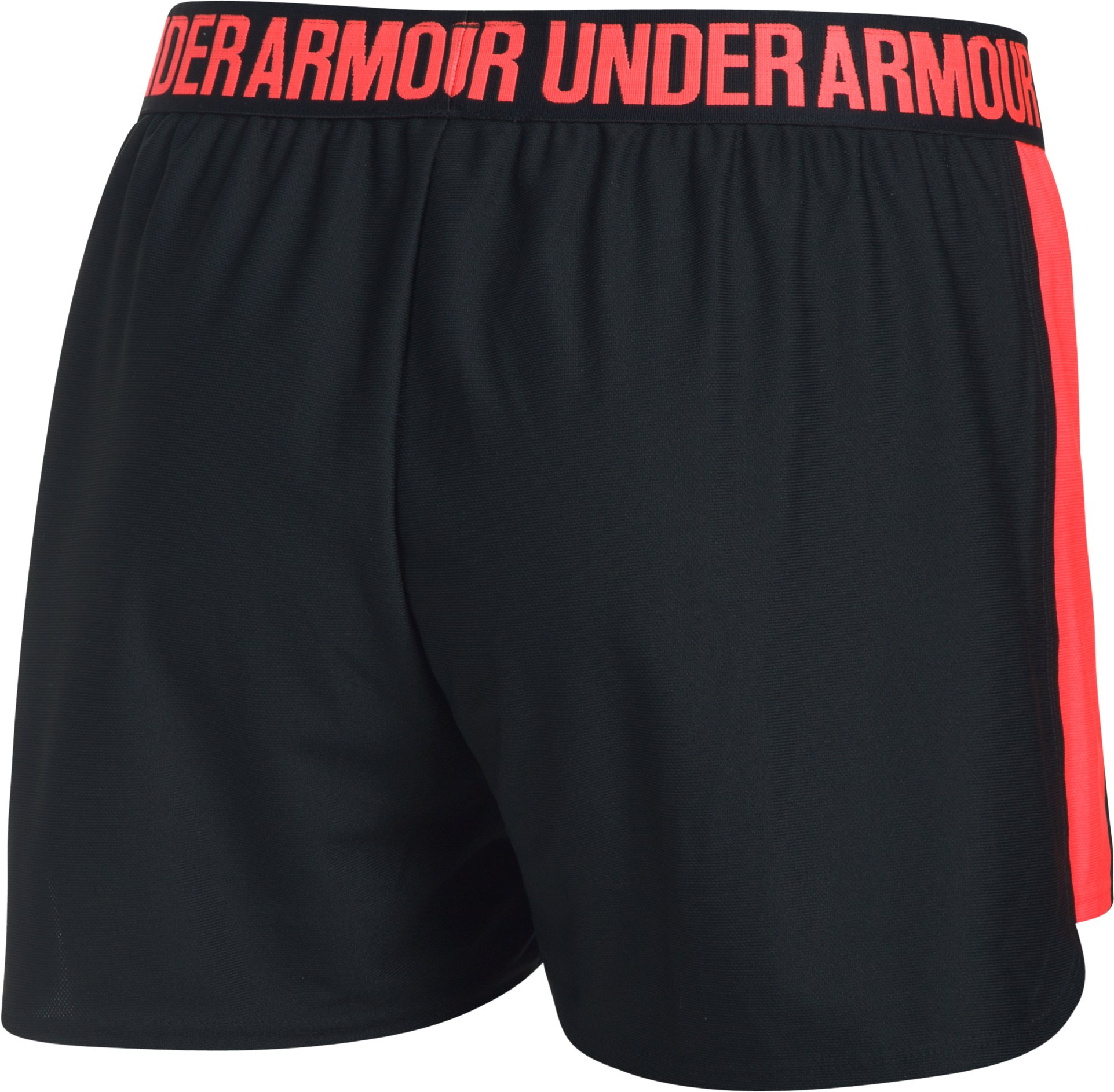 Women's UA Play Up 2.0 Shorts, Black