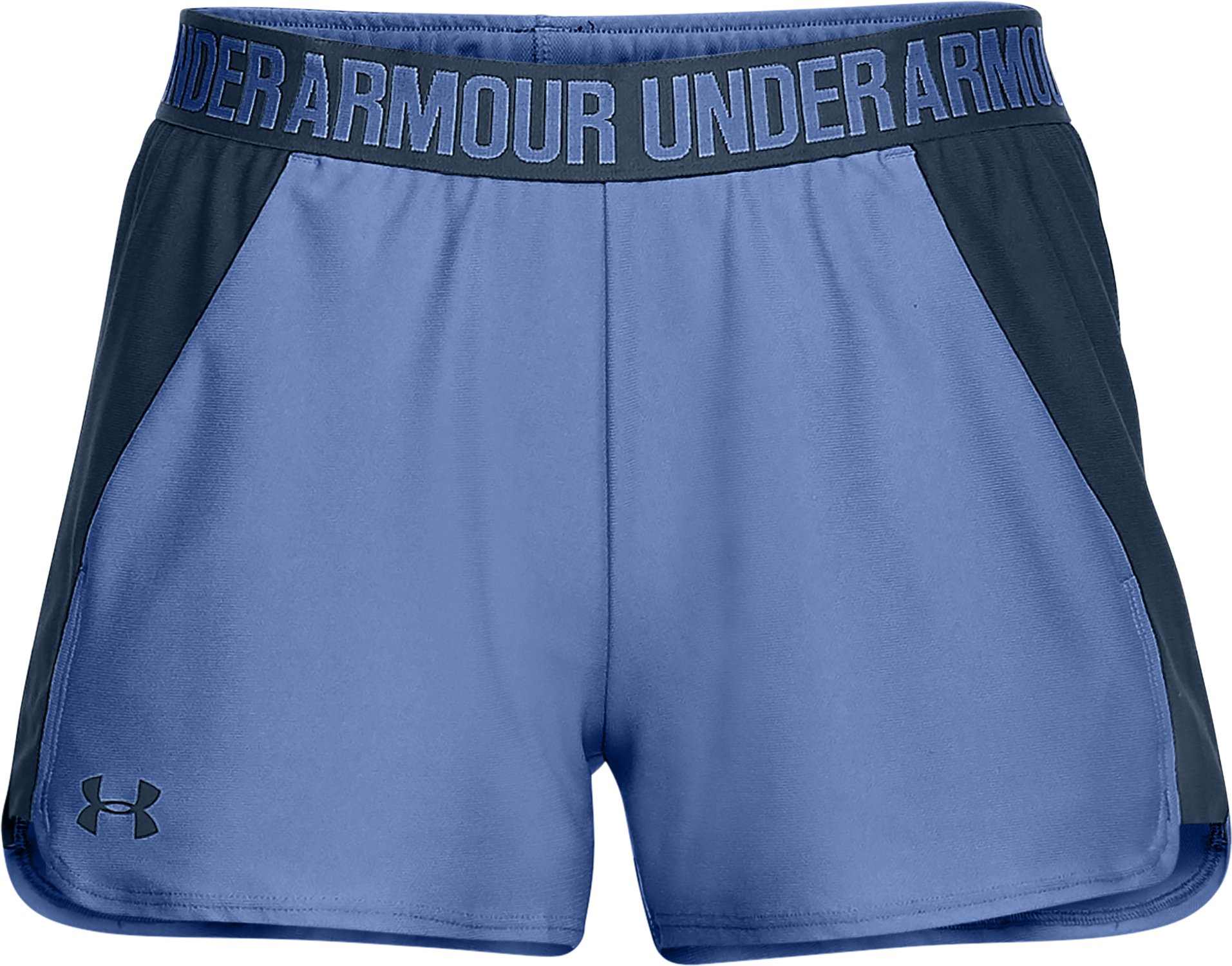 Women's UA Play Up 2.0 Shorts, TALC BLUE,
