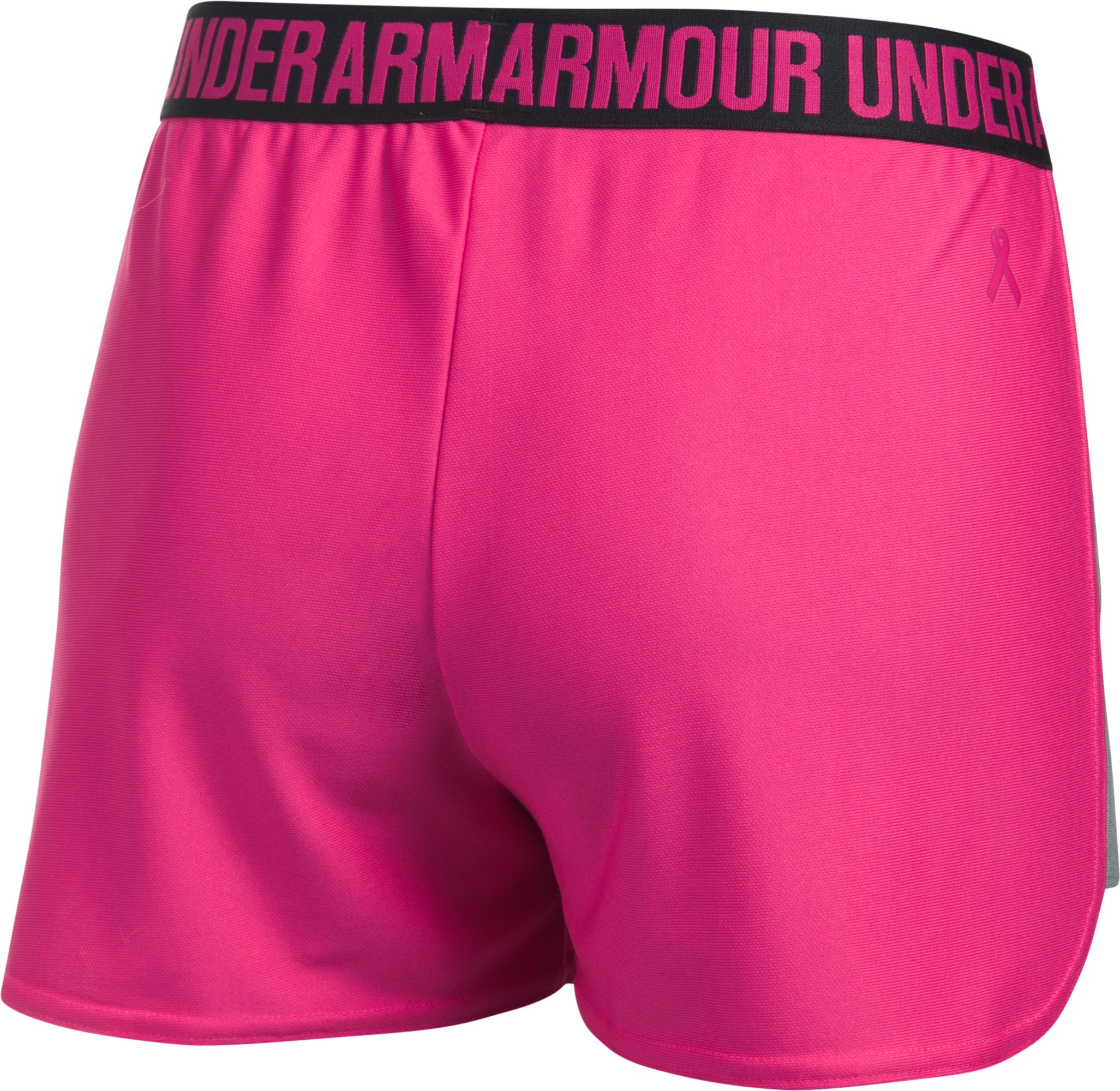 Women's UA Play Up 2.0 Shorts, Tropic Pink, undefined