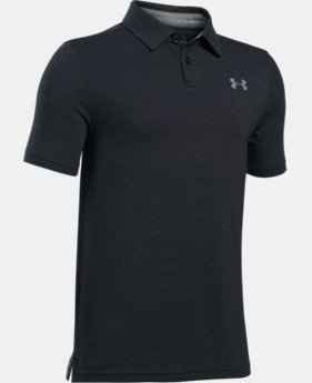 Boys' Charged Cotton® Heather Polo  3 Colors $29.99