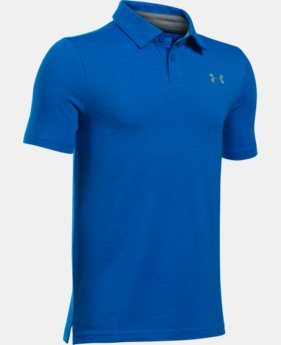 New Arrival Boys' Charged Cotton® Heather Polo  1 Color $29.99
