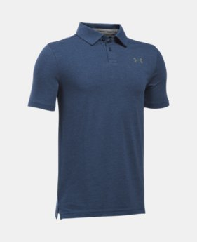 Boys' Charged Cotton® Heather Polo  2 Colors $29.99