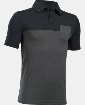 Boys' Charged Cotton® Blocked Polo  1 Color $34.99