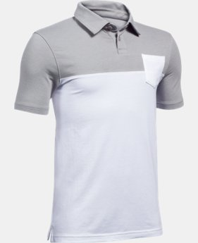 Boys' Charged Cotton® Blocked Polo  1 Color $39.99