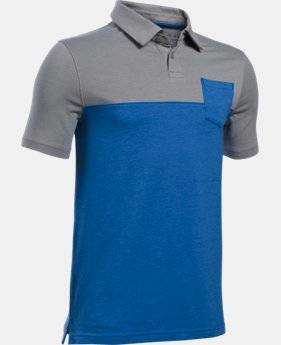 Boys' Charged Cotton® Blocked Polo  1 Color $19.99