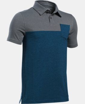 Boys' Charged Cotton® Blocked Polo   $19.99
