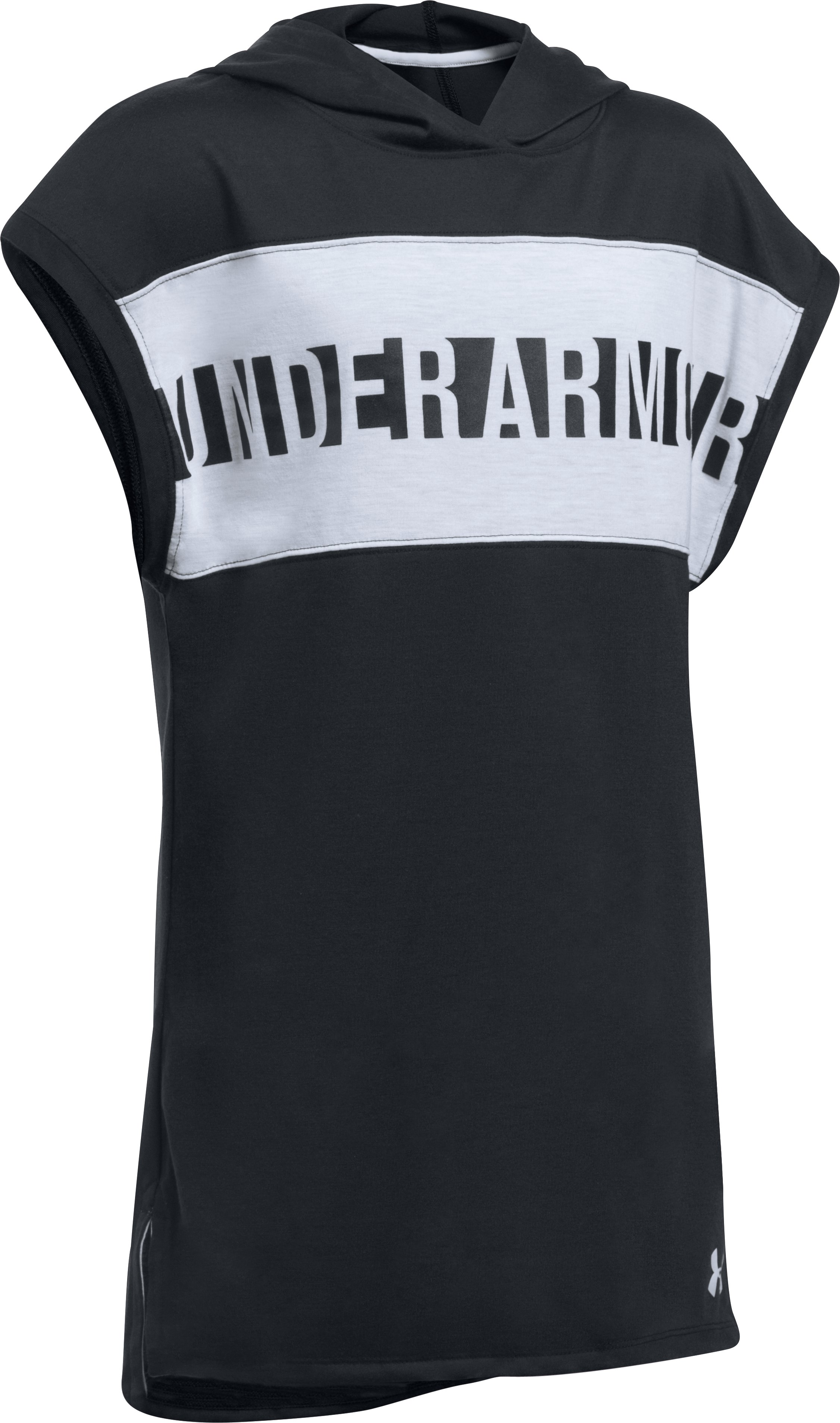 Girls' UA Threadborne™ Tunic, Black ,