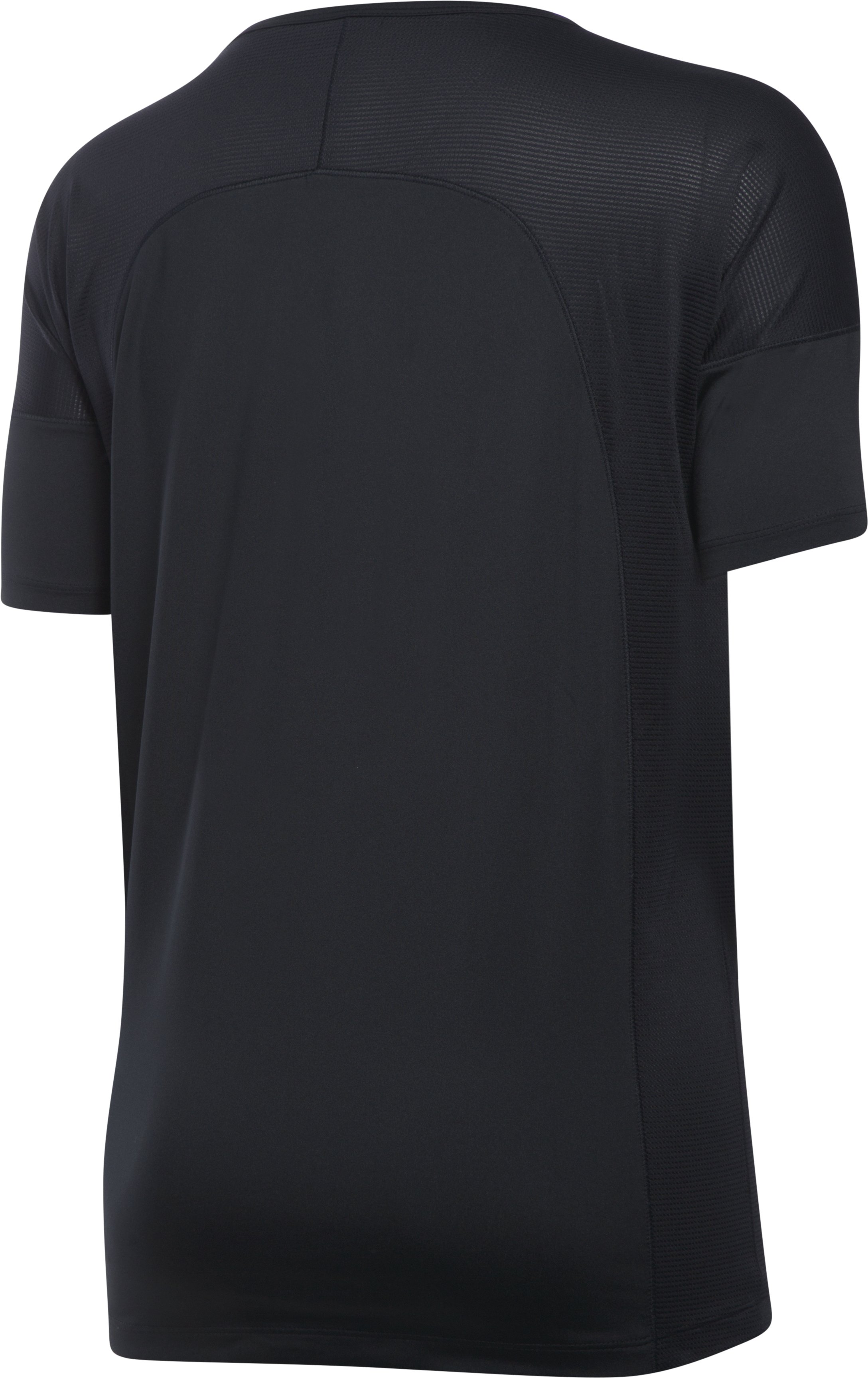 Women's UA Got Game Short Sleeve, Black , undefined