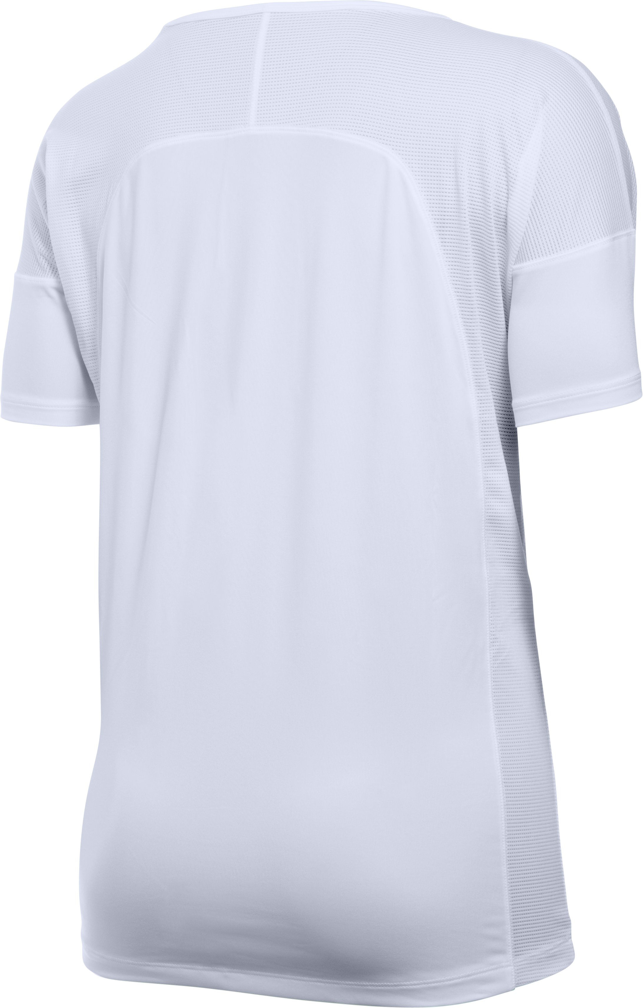 Women's UA Got Game Short Sleeve, White,