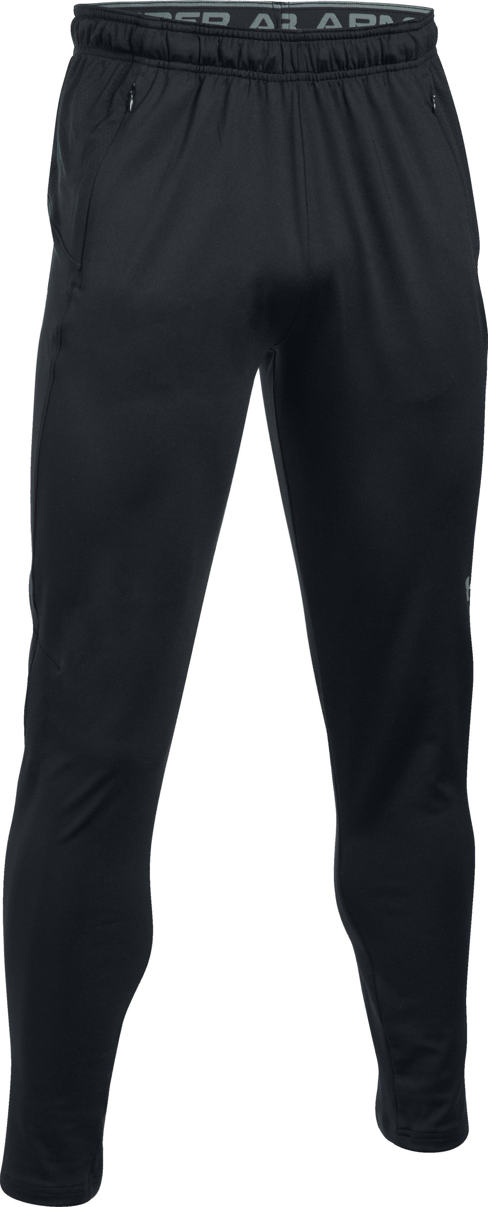 Men's UA Challenger Knit Pants, Black , undefined