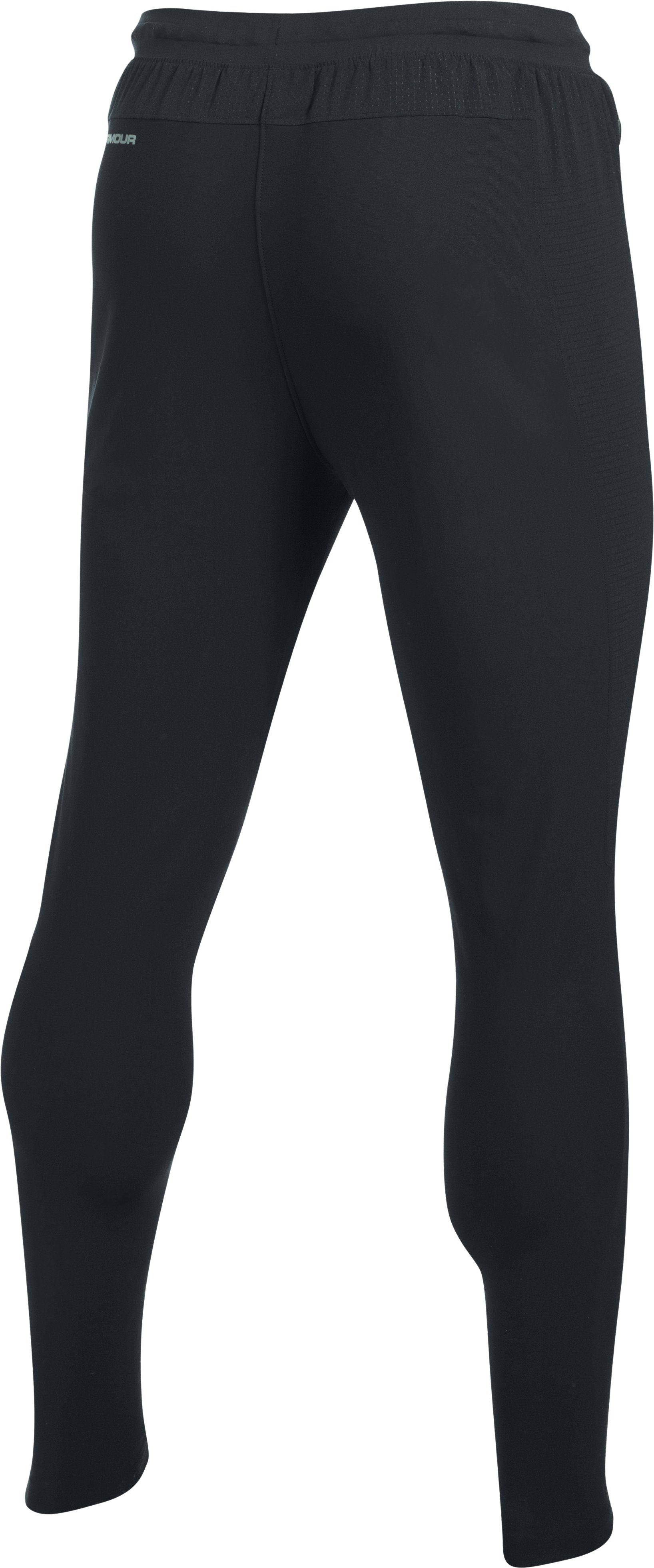 Men's UA Microthread Pitch Pants, Black , undefined