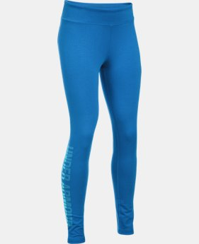 New Arrival  Girls' UA Favorite Knit Graphic Leggings   $49.99