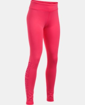 Girls' UA Favorite Knit Graphic Leggings  1 Color $24.99 to $33.99