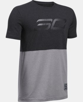 Boys' SC30 Long Line T-Shirt  1 Color $12.74