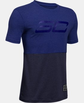 Boys' SC30 Long Line T-Shirt  1 Color $26.99
