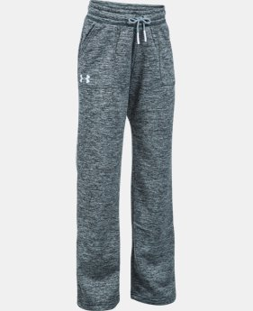 Girls' UA Storm Armour® Fleece Twist Pants  1 Color $28.99 to $30.99