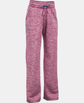 Girls' UA Storm Armour® Fleece Twist Pants  1 Color $37.99