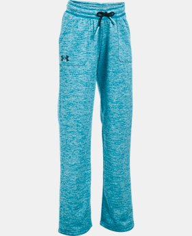Girls' UA Storm Armour® Fleece Twist Pants  2 Colors $28.99 to $30.99