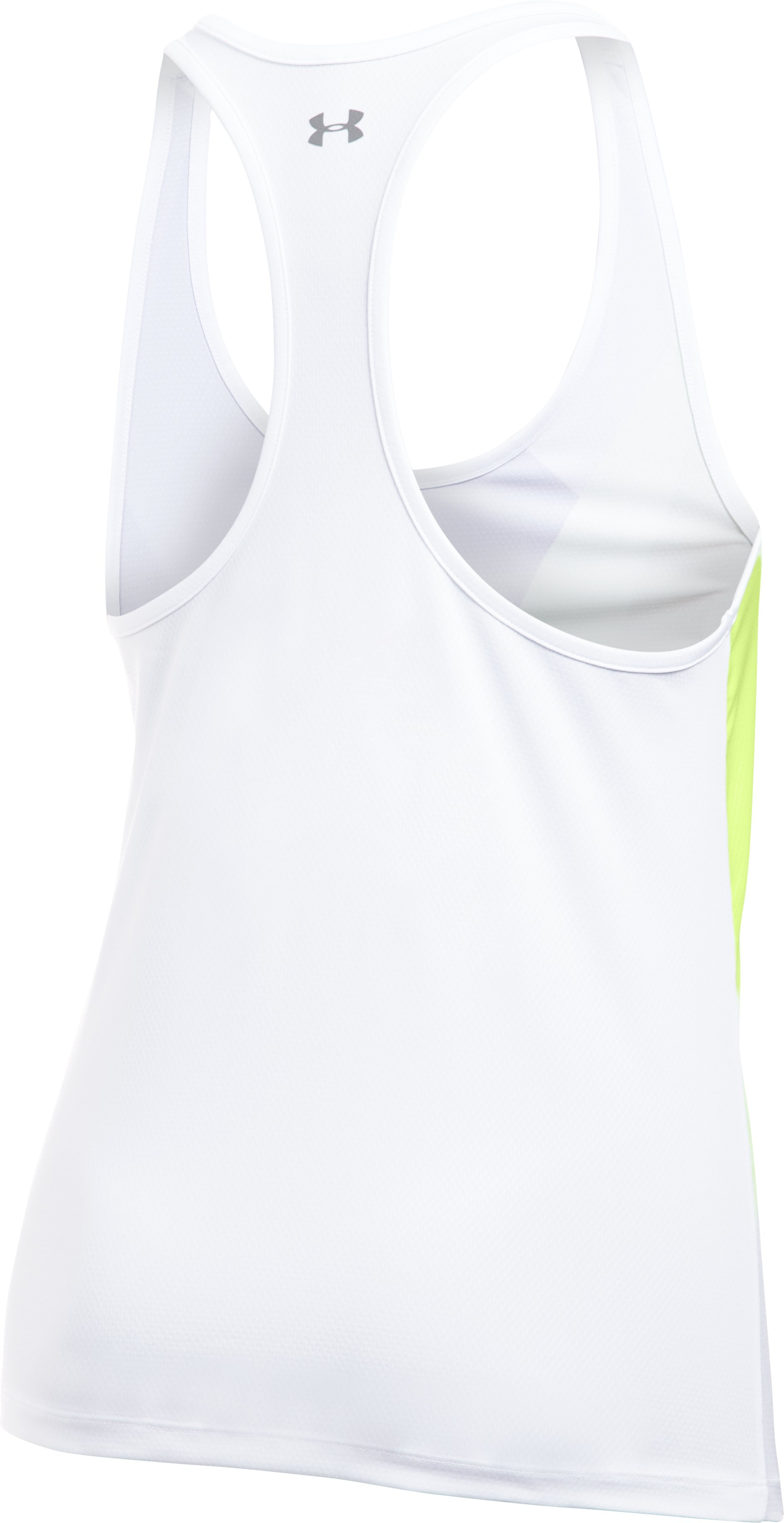 Women's UA Geo Run Tank, PALE MOONLIGHT, undefined