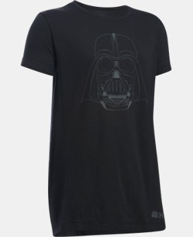 Girls' Star Wars Darth Vader UA T-Shirt   $14.99