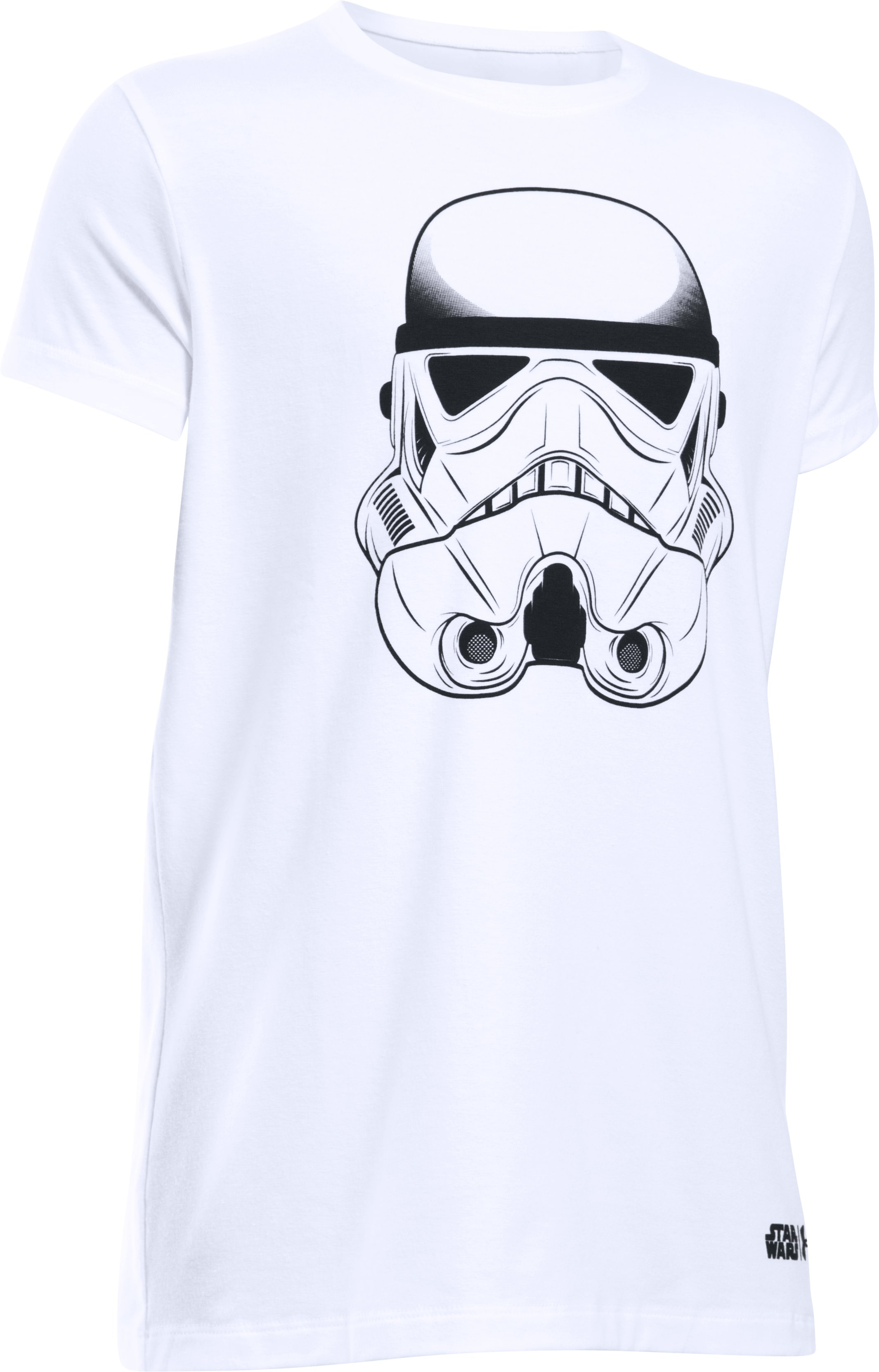 Girls' Star Wars Storm Trooper UA T-Shirt, White, undefined