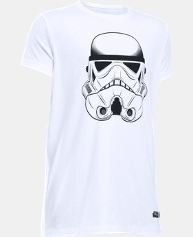 Girls' Star Wars Storm Trooper UA T-Shirt   $14.99