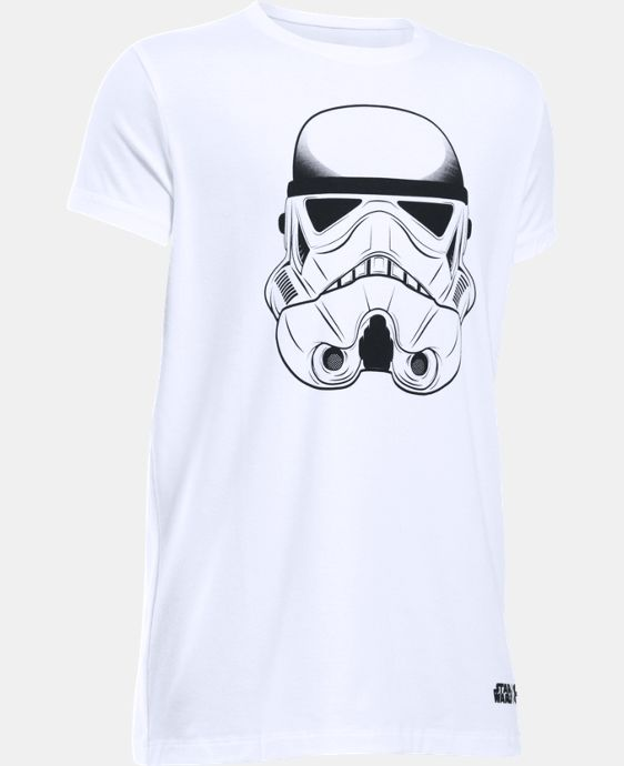Girls' Star Wars Storm Trooper UA T-Shirt  1 Color $24.99
