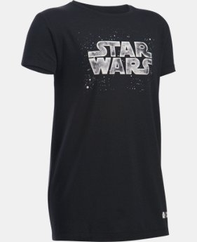 Girls' Star Wars UA T-Shirt  1 Color $14.99