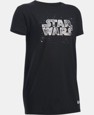Girls' Star Wars UA T-Shirt LIMITED TIME: FREE U.S. SHIPPING 1 Color $14.99