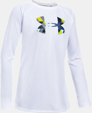 Girls' UA Big Logo Long Sleeve T-Shirt LIMITED TIME: FREE U.S. SHIPPING 1 Color $18.74
