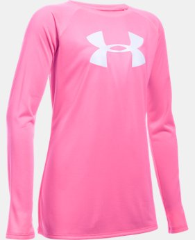 Girls' UA Big Logo Long Sleeve T-Shirt