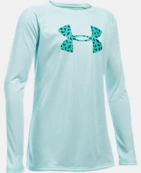 Best Seller Girls' UA Big Logo Long Sleeve T-Shirt LIMITED TIME: FREE SHIPPING 1 Color $24.99