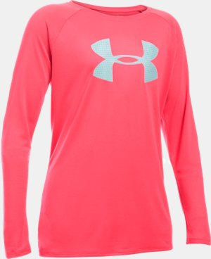 Girls' UA Big Logo Long Sleeve T-Shirt LIMITED TIME: FREE U.S. SHIPPING 9 Colors $18.74