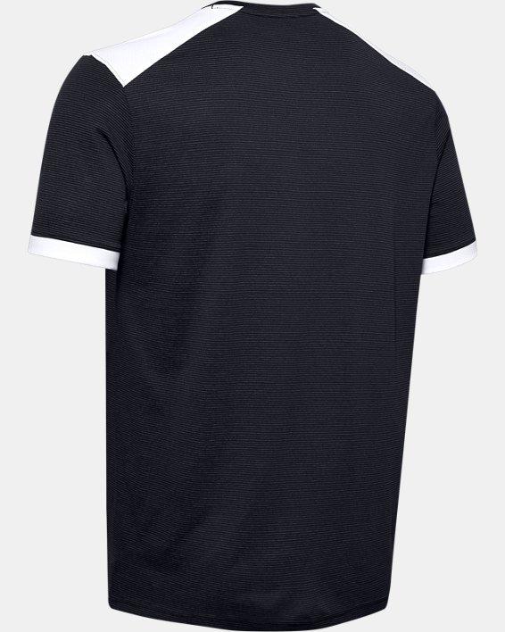 Men's UA Microthread Match Jersey, Black, pdpMainDesktop image number 9