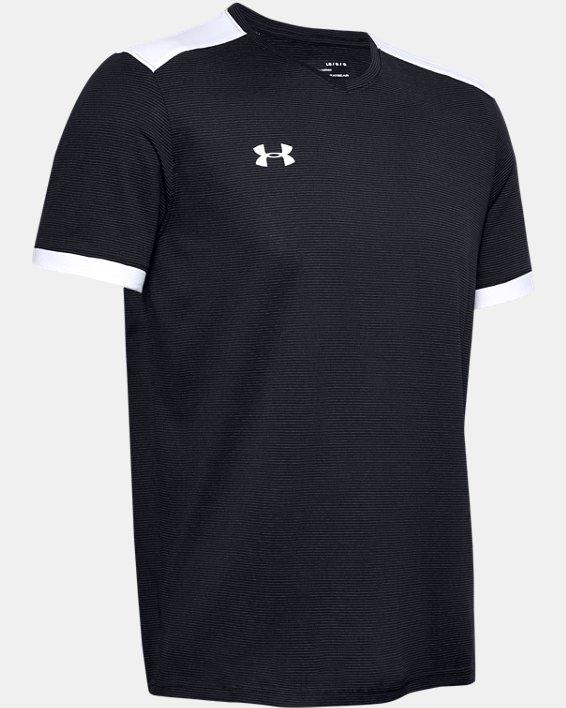 Men's UA Microthread Match Jersey, Black, pdpMainDesktop image number 8