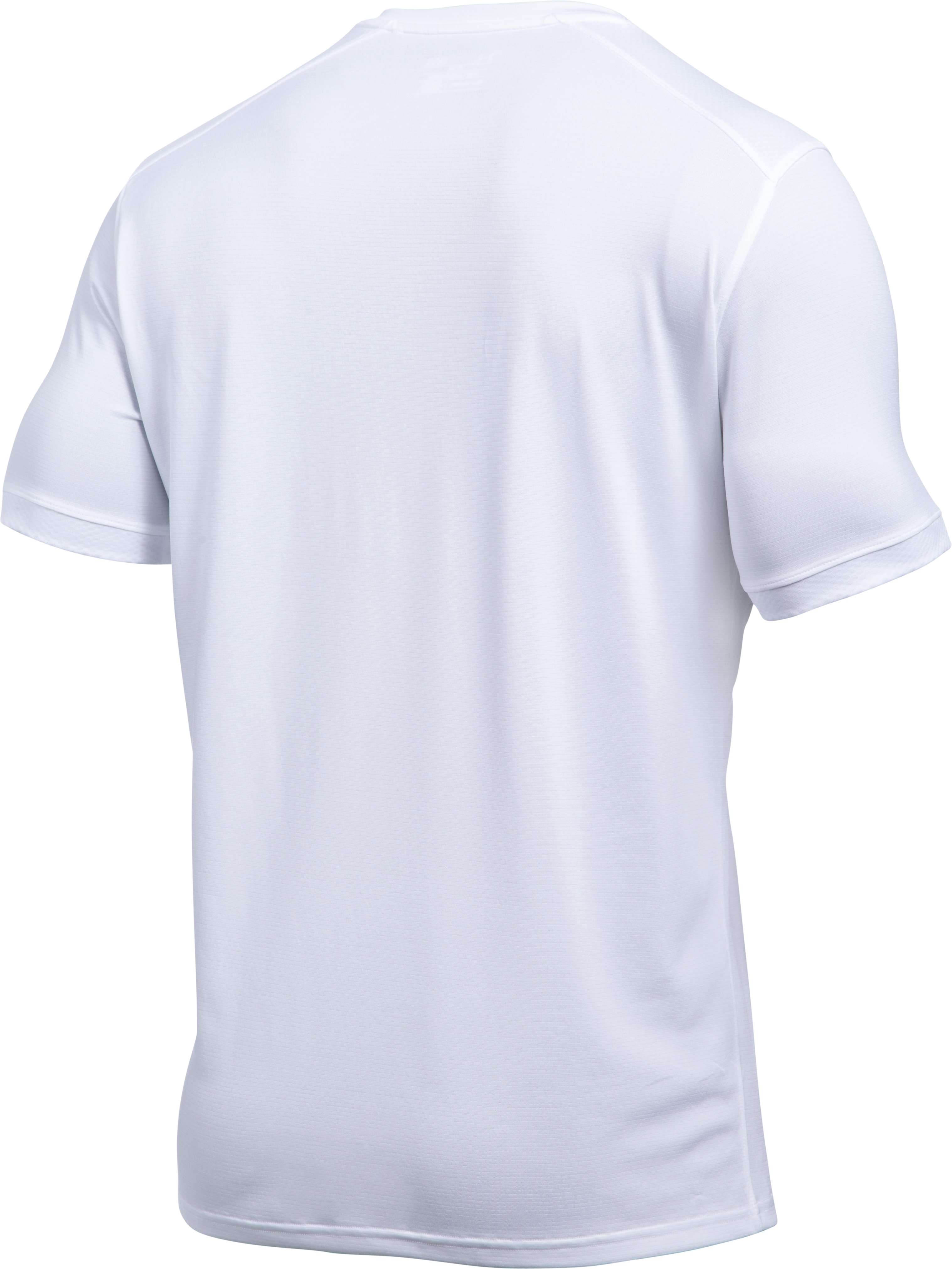 Men's UA Microthread Match Jersey, White,