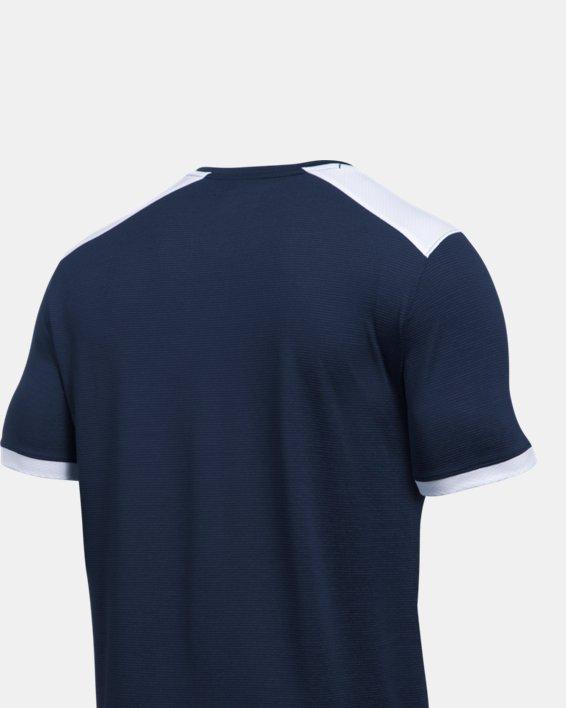 Men's UA Microthread Match Jersey, Navy, pdpMainDesktop image number 4