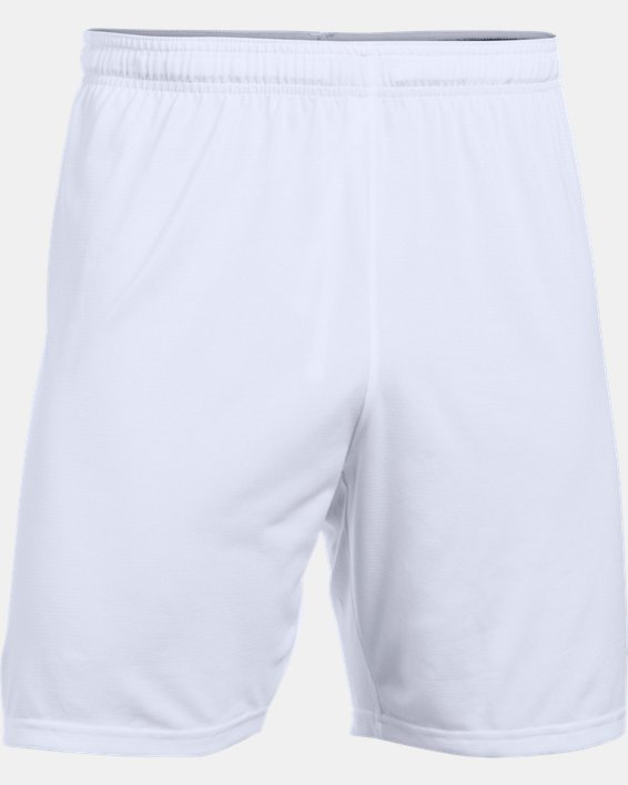 Men's UA Microthread Match Shorts, White, pdpMainDesktop image number 5